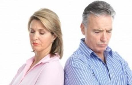גירושין בגיל מבוגר כשהילדים גדולים