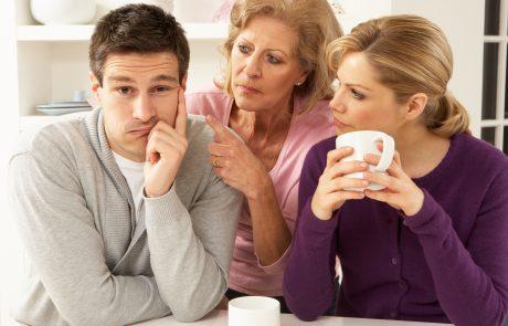 גישור גירושין – מאזין: ההורים של אשתי מתערבים
