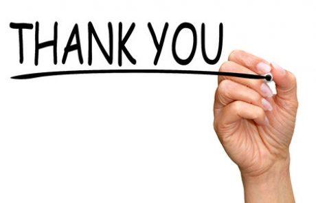מכתב תודה – לקוחה שעברה הליך גישור גירושין